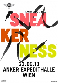 22.09.2013: SNEAKERNESS VIENNA 2013 in der Expedithalle